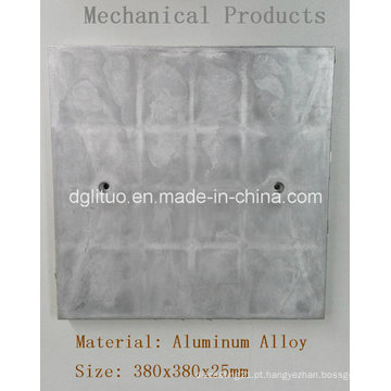 Placa inferior de aquecimento de peças de fundição de forno