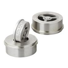 Clapet anti-retour à disque en acier inoxydable