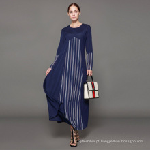 Proprietário Designer marca oem label new arrival muçulmano cardigan mulheres Vestuário Islâmico personalizado longo vestido turco abaya