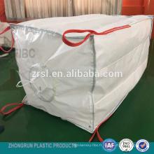 Sac FIBC Q - Grand sac à chicanes largement utilisé avec un bec de remplissage