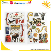 3D Stickers With Glitter