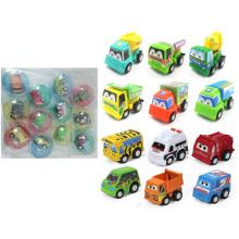 Promotion Gift Pull Back Mini Cars dans Egg Shell (H0415325)