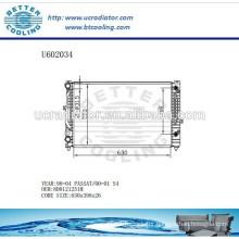 Aluminum Radiator For VOLKSWAGEN Passat 98-04 S4 00-01 8D0121251M