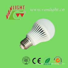 E27/B22 5W Plastic Cover Aluminum LED Lamp Bulb