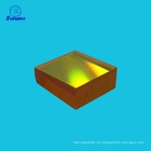 Importação EUA ZnSe windo lente foco ZnSe para máquina de corte a laser Co2