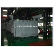 Aceite cobre sumergido tipo bobina herida núcleo baja pérdida 15 mva 20 kV transformadores trifásicos