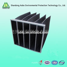 Manufacturer AOBO of activated carbon pleated pocket bag filter for air conditioning spray booth