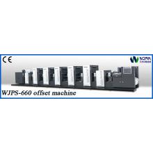 Máquina de impressão deslocada de rolo para rolo