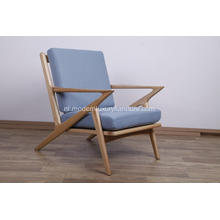 Stof Selig Z Mid Century Lounge Chair-replica