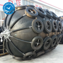Marine ship fenders are used for fishboat