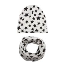 Kids Baby Children Spring Autumn Ring Collars Boy′s Girl′s Neck Wear Snood Loop Hat Set Beanie Scarf (SW804S)