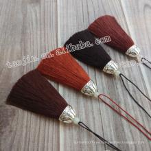 Buena Selling Maravillosa calidad y diseño colorido borlas decorativas para muebles