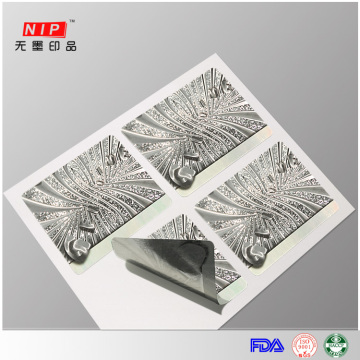 Professional Design 3d Hologram Technology Stickers