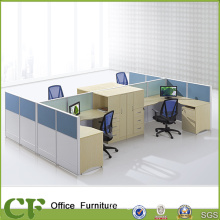 25mm Table Top Office Call Center Cubicles Workstation