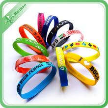 Hot Sell Custom Product Silicone Rubber Wristband