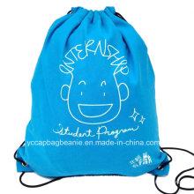 100% Algodão Drawstring Bag