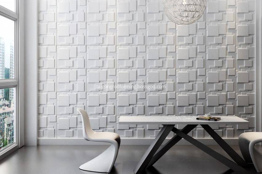 Decorative Wallboard Roll Forming Machine