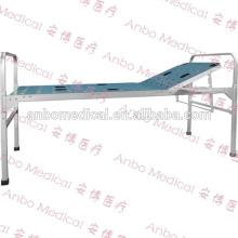 Aluminiumlegierung faltbares medizinisches Bett mit einer Kurbel