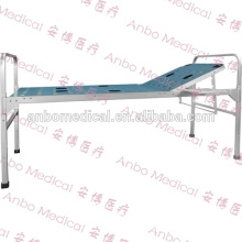 Aluminum alloy folding medical bed with one crank