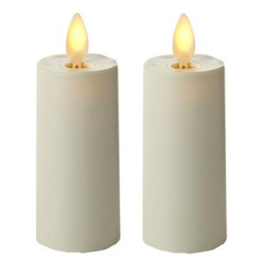 Set 2 Ivory 3 inci Luminara Votive lilin