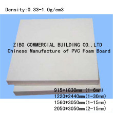 China Mainland PVC Foam Board for Building Decoration, Outdoor and Indoor Decoration Board, Partion Board in Office and House