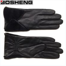 Оптовые дешевые зимние теплые кожаные перчатки