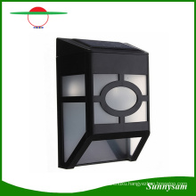 2016 Waterproof Solar Wall Lamps ABS Path LED Solar Light Outdoor Garden Wall Lightings Yard Path Fence Lamp for Home Corridor