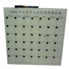 Tempered Glass Months Planner Writeboard