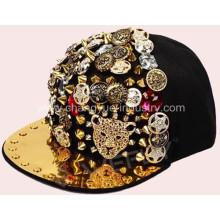 Качество хлопка моды шипами установлены cap hat