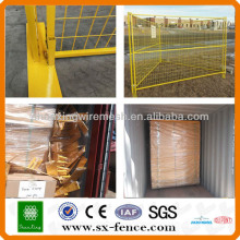 Canada Temporary Removable Construction Metal Fencing(ISO9001:2008 professional manufacturer)