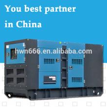 generador silencioso de Shangchai de 75kw con alimentación cubierta por el modelo del motor SC4H115D2