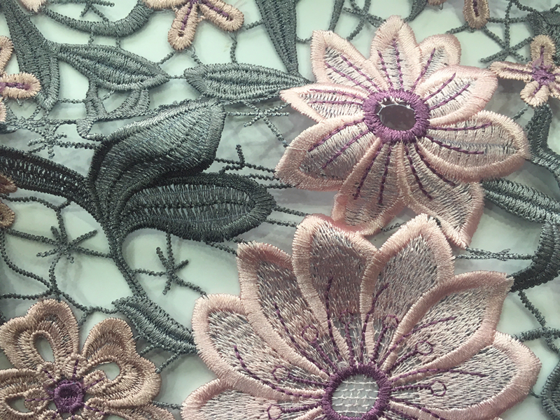 Elegant Chemical Lace Fabric