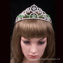 Neue Krone Strass Tiaras Kristall Krone