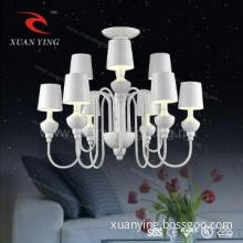 Attractive modern chandelier lamps for dining room decorating