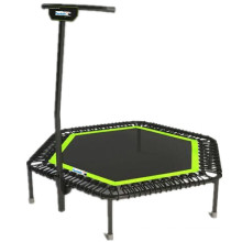 Commercial Jumping Gym Trampoline with Handle Bar