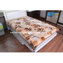 Рашель печати норки акриловые одеяло (MQ-LAB013)