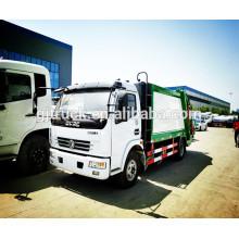 5CBM 4X2 Dongfeng camion à ordures / camion d'élimination des déchets / camion de collecte des ordures / déchets ordures camion / ordures compacteur / poubelle