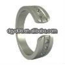 (WS1502) 2011Fashion 316L Stainless steel Stones Finger Ring