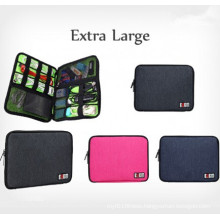 Fashion XL Size Travel Data Cable Organizer Bags (54079)