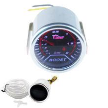 """2"""" 52mm Car Universal Pointer Bar Turbo Boost Gauge Meter Smoke Tint Len LED"""
