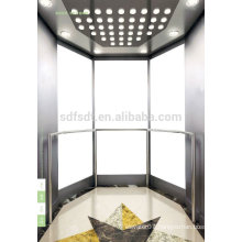 observation elevator /sightseeing lift /glass elevator price with machine room of Japan technology
