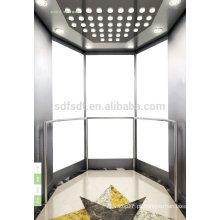 Elevador de observação / elevador de turismo / preço de elevador de vidro com sala de máquinas da tecnologia Japão