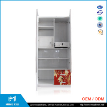 Metal Almirah 2 Door Steel Wardrobe / Steel Wardrobe