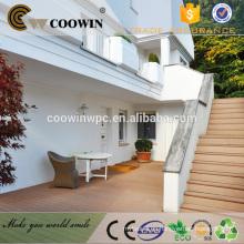 China madera barata de madera de plástico fuera balcón terraza