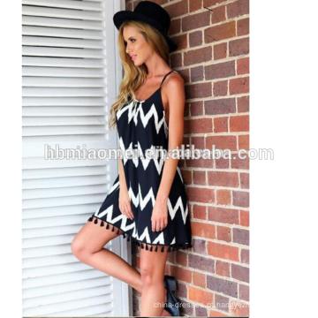 Vestido longo chiffon novo estilo mulheres tie cintura chiffon dress verão para atacado