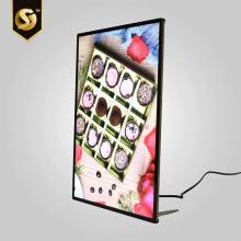 Наружная реклама Алюминиевый магнитный светодиодный световой короб
