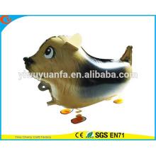 Горячая распродажа прогулки Pet воздушный шар игрушки воздушный шар фольги Fox для Christms подарков