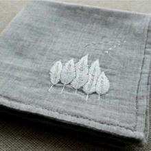 El pañuelo de mano de trigo bordado regalo de bricolaje