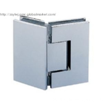 Chrome plated brass shower enclosure hinges