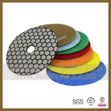 High Quality 100mm Swirl Wet Marble Diamond Polishing Pads